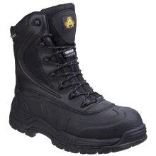 Amblers Safety: Black AS440 Hybrid Metal Free Hi-leg Waterproof Safety Boot 8