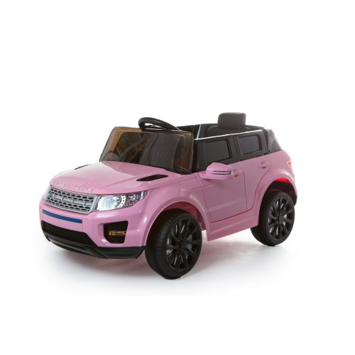 12V KIDS ELECTRIC RANGE ROVER EVOQUE STYLE RIDE ON CAR JEEP CHILDREN PINK WHITE