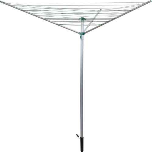 30m Rotary Washing Line 3 Arm Garden Clothes Dryer Airer Sturdy Robust HCL200
