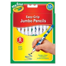Crayola My First Crayola Jumbo Decorated Pencils