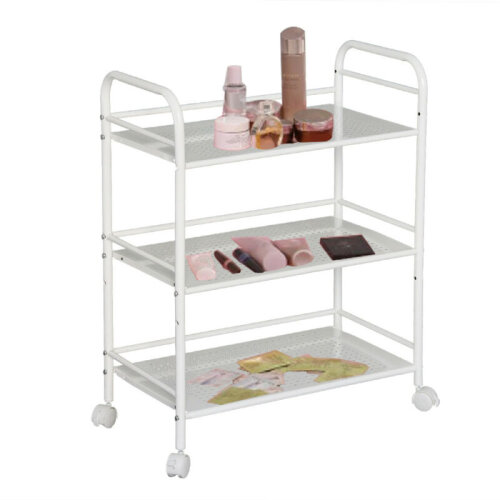 3 Shelf Large Salon Beauty Cart Spa Storage Dentist Wax Treatments