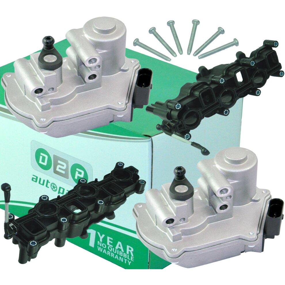 For Audi A4 A6 A8 Q7 2.7 3.0 TDi 059129086D Intake Manifold Air Flap Actuator