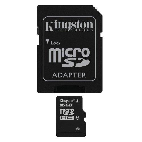 Kingston Technology 16GB microSDHC