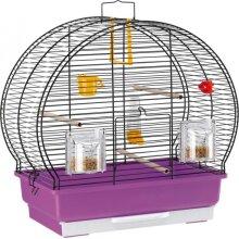birdcage Luna 2 44,5 x 25 x 45,5 cm purple