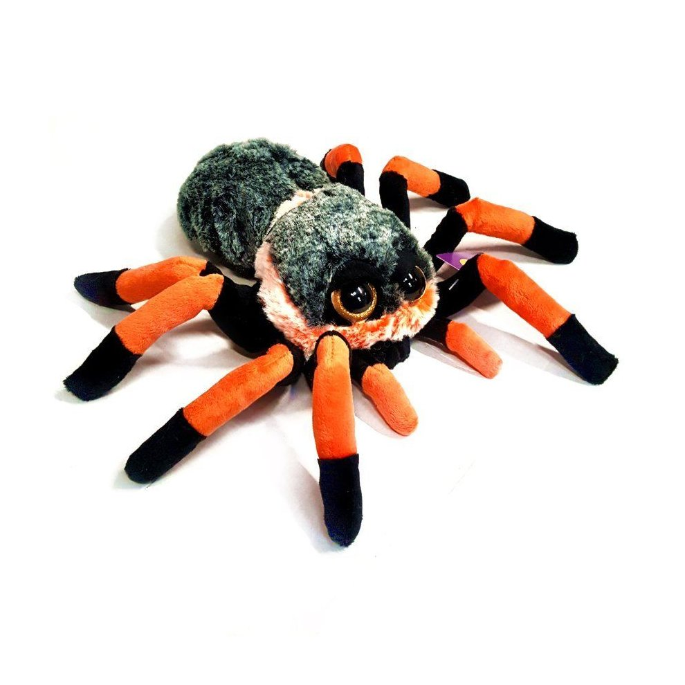 Tarantula Stuffed Animal, 22cm Tarantula Spider Cuddly Soft Toy Suitable For All Ages 0 On Onbuy