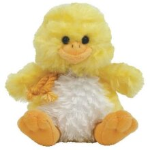 Coop - The Chick - 4' Clip On - TY Beanies - Basket Beanies