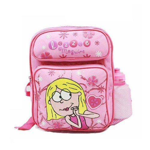 Small Backpack - Lizzie McGuire - w/Water Bottle New School Bag Girls 22753