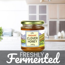 Organic Clover Honey