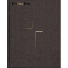 The Jesus Bible, ESV Edition, Cloth over Board, Gray