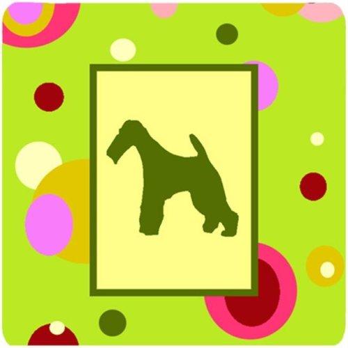 Fox Terrier Foam Coasters - Set 4
