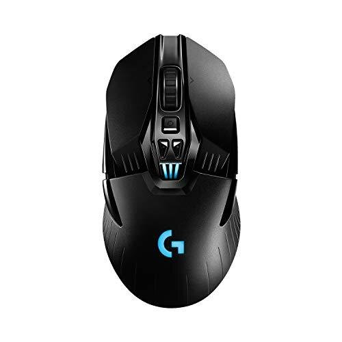 Logitech G903 LIGHTSPEED Wireless Gaming Mouse, Hero 16K Sensor, 16000 DPI, RGB, Lightweight, Programmable Buttons, 140-Hour Battery Life, Rechargea