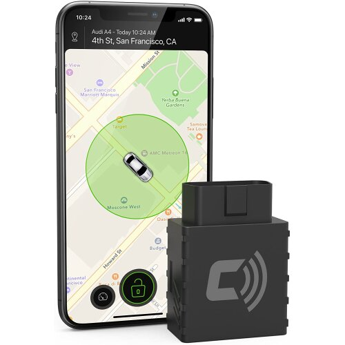 Car Anti-Theft Device Advanced GPS Real Time Car Tracker & Alert System with Device & Phone App Connects to OBD Port Plug&Play