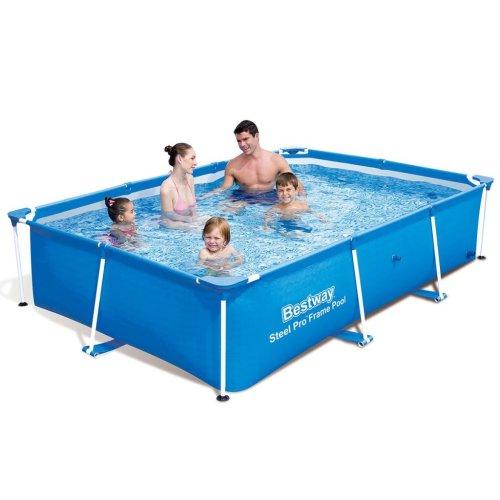 Bestway Steel Pro Rectangular Family Swimming Pool