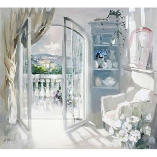 Sunny Room Poster Print by Willem Haenraets, 24 x 24 - Large