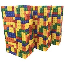 Playwrite Building Blocks / Bricks Pick n Mix Bag - Party Candy Sweet Bags for Party Fillers - (36 Bags)
