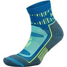 Balega Blister Resist Unisex Quarter Running Socks, Ethereal Blue - Medium