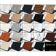 Laptop Skin Cover Sticker Decal Protector Marble Leather Wood Effect 13.3''