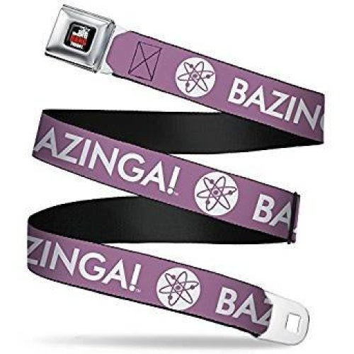 Seatbelt Belt - The Big Bang Theory - V.2 Adj 24-38' Mesh New bbta-wbbt038