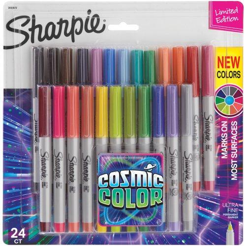 Sharpie Cosmic Color Ultra Fine Point Markers 24/Pkg-