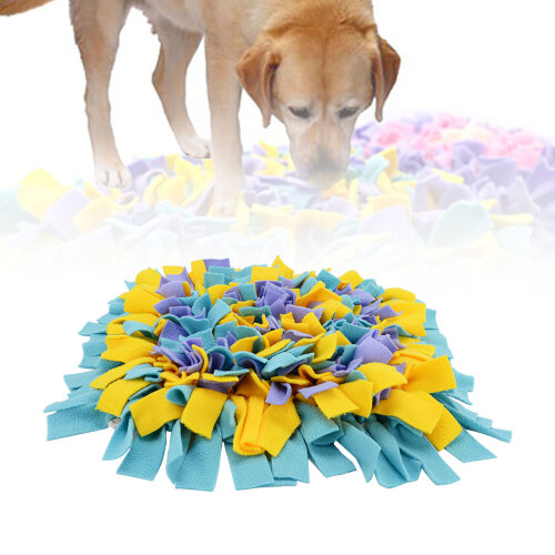 45cm Dog Puppy Snuffle Mat Pet Puzzle Toy Sniffing Nose Training Pad
