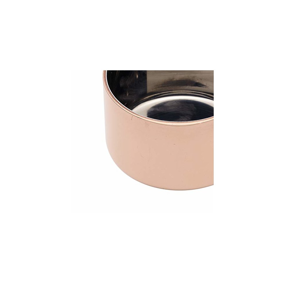 2.5 Sauce Serving Pot MasterClass Professional Copper Mini Saucepan 6.5 cm