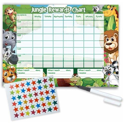 Jungle Reward Chart