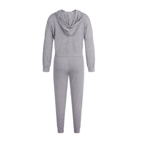 (Light Grey, 6) Women Long Sleeve Tracksuits Lady Casual Lounge Wear Hoodies Sweatshirts