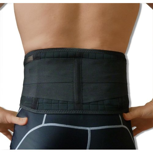 NeoPhysio Magnetic Back Support Brace 20 Magnets