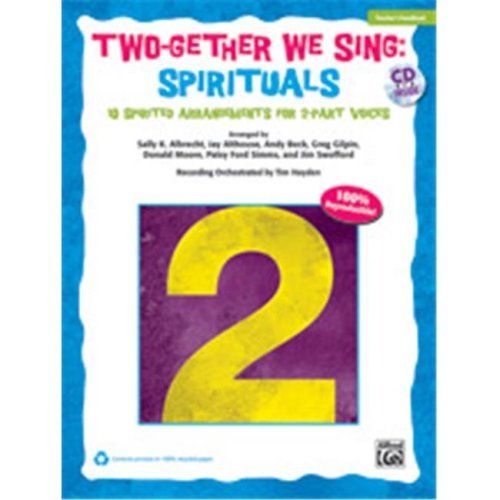 Alfred 00-37999 TWOGETHER WE SNG SPIRITUALS-BK&CD