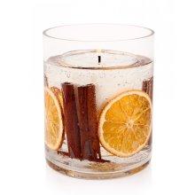 Stoneglow Cinnamon & Orange Botanical Gel Tumbler Candle