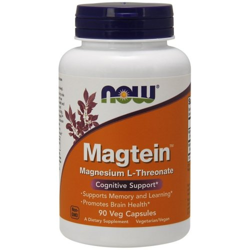 NOW Foods  Magtein Magnesium L-Threonate - 90 vcaps