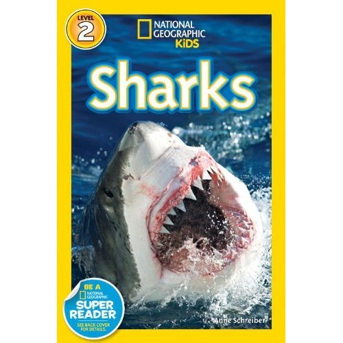 National Geographic Readers: Sharks (National Geographic Kids: Science Reader - Level 2)