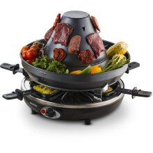 Gourmia GEG1400UK Electric Raclette - Table-Top Party Grill