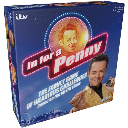 In For A Penny Family Board Game