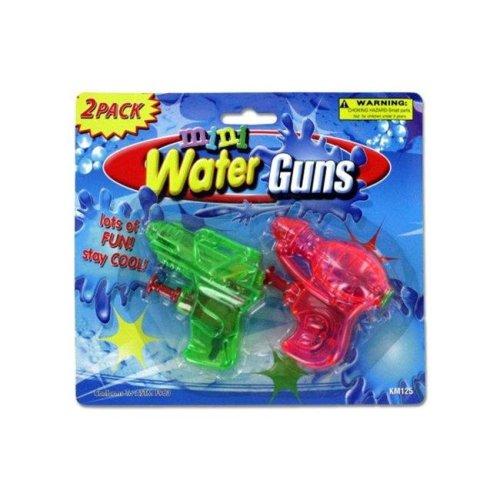 Kole Imports KM125-72 Mini Water Guns - Pack of 72