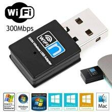 USB WiFi Adapter Wireless Dongle Adaptor 802.11 B/G/N Lan Network 300Mbps