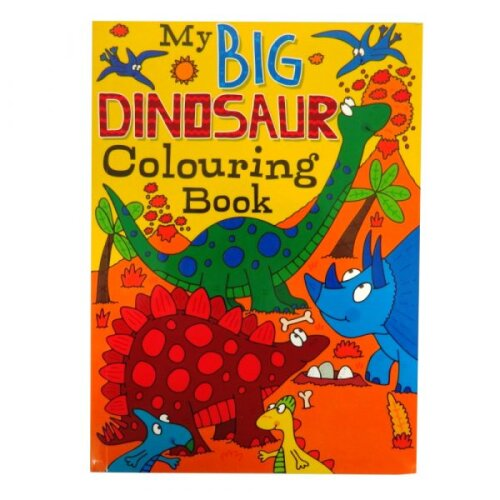 My Big Dinosaur Colouring Book