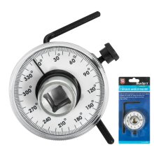 """BlueSpot Torque Angle Gauge Easy Read Face For Socket Ratchets 1/2"""" Drive"""