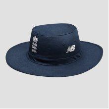 2020/21 New Balance ECB England Cricket Sun Hat Cap, Galaxy