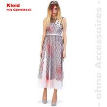 Zombie Zombie Bride Ladies Costume Halloween Summer girl costume for women Size