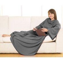 Sleeved Fleece Blanket Super Soft Snuggle Wrap