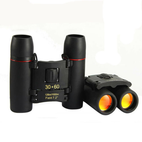 Foldable 30 x 60 Zoom Compact Binoculars