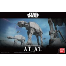 1/144 scale Star Wars Imperial AT-AT model kit by Bandai
