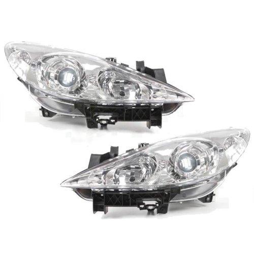 Peugeot 307 2005-2009 Headlights Headlamps 1 Pair O/s & N/s