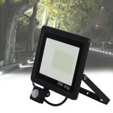 50W LED PIR Sensor Flood Light Energy Saving Outdoor Security Lamp