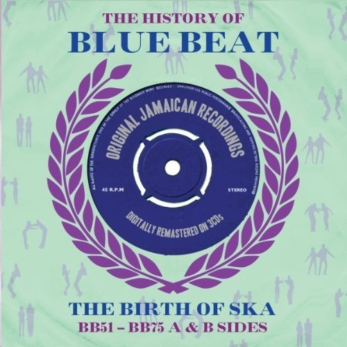 The History of Blue Beat (bb51 - Bb75 a and B Sides) Box Set Audio Cd Various