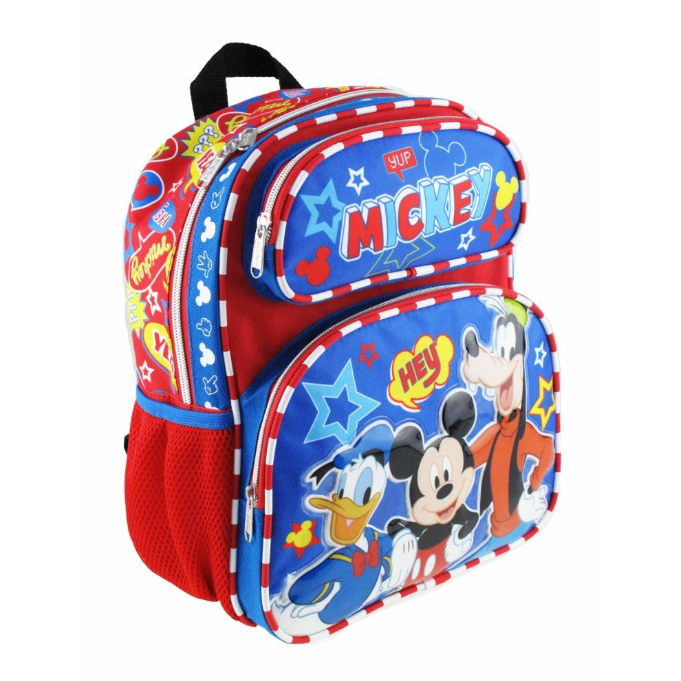 "Hey Friends Plus Lunch Bag Disney Mickey Mouse 10/"" Mini Backpack"