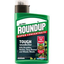 Roundup Ultra Weedkiller Concentrate 1 Litre