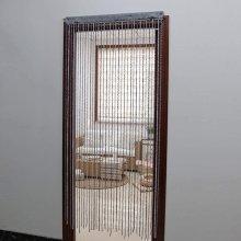 JVL Twisted String Door Curtain, 200cm x 90cm approx