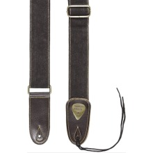 Leather Guitar Strap |Adjustable Cotton Leather Guitar Strap |Acoustic Electric